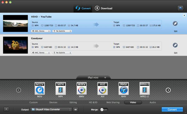 How to convert Digital Video Recorder DVR video to MP4 video on Mac