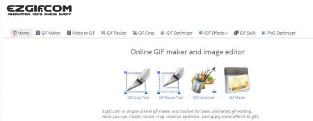 EzGif video to gif converter