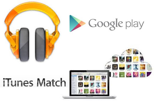 Add iTunes music to android with Google Play