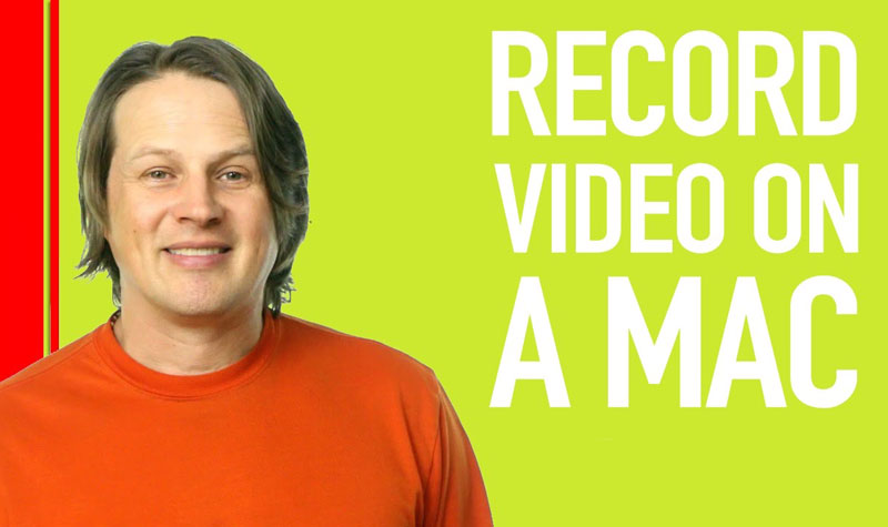 Record video on Mac with iMovie