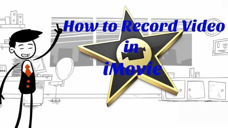 Record video with iMovie