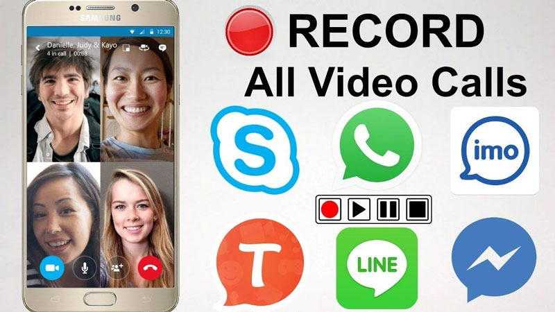 How to record video call for free
