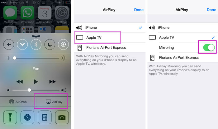 Screen Recording App for iOS Airplay