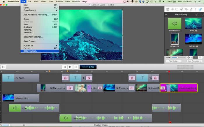 Top 8 Computer Screen Recorder - Screenflow