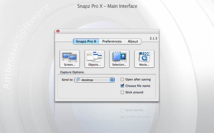 Top 8 Computer Screen Recorder - Snapz Pro X