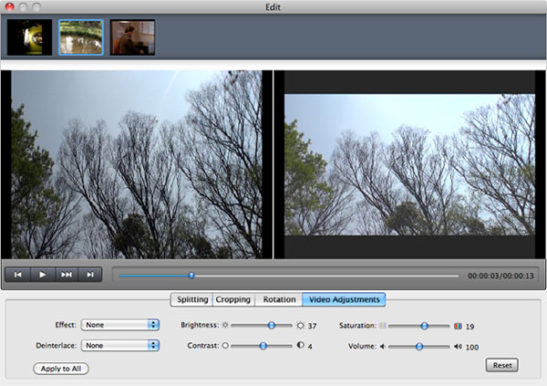Edit Video with Mac Video Converter