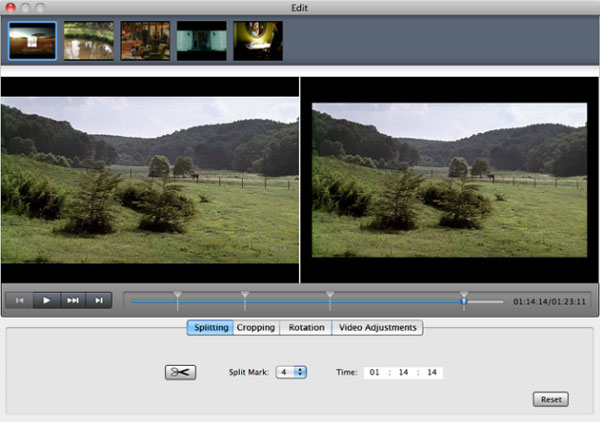 Split Video with Video Converter for Mac