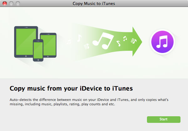 Copy Music to iTunes