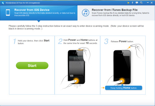 The world`s 1st iPhone data recovery software for Mac