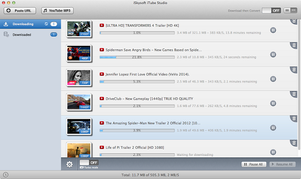 Batch Download YouTube