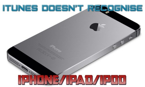 itunes doesn t recognize iphone how to fix itunes won t recognize iphone ipod mac dvd studio 17760