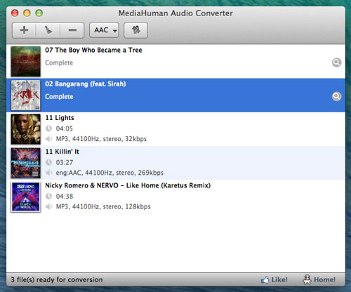 Free Audio Converter for Mac - Mediahuman