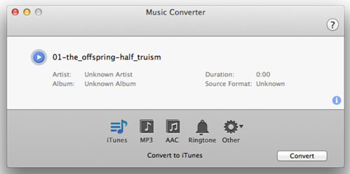 Free Music Converter for Mac