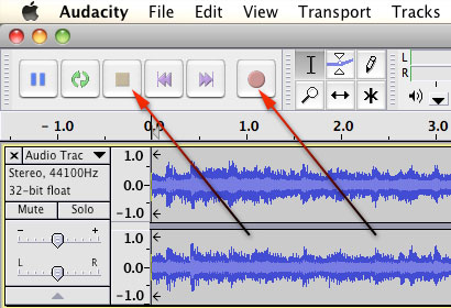Free Audio Recorder for Mac - Audacity