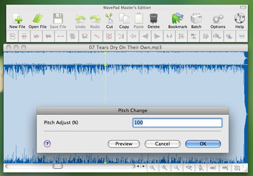 Free Audio Recorder for Mac - Wavepad