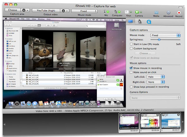 Mac Screen Recorder - iShowU
