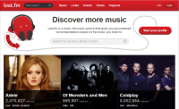 Free Music Download websites - last.fm