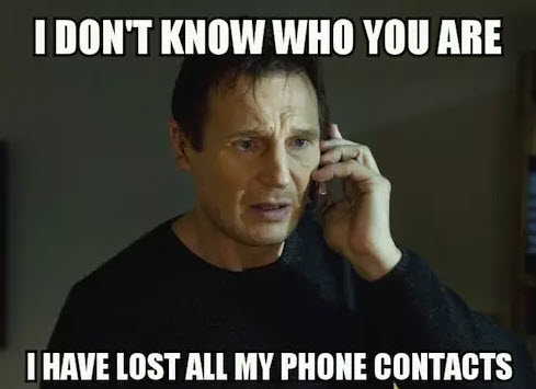 Phone Contacts Backup