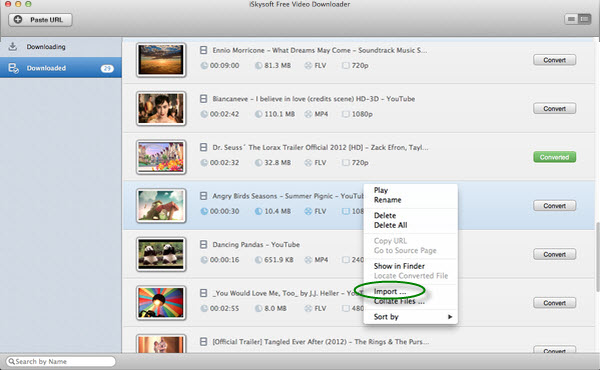Mac Online Video Downloader Screenshot