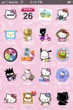 free iPhone themes - Hello Kitty