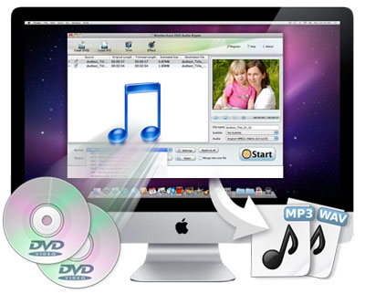 convert DVD to MP3 song on Mac