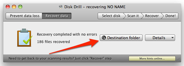Recover Deleted files on Mac successfully
