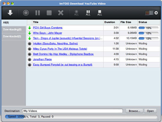Free YouTube Downloader for Mac - imToo