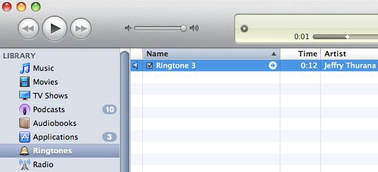 load ringtone to iphone