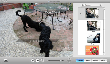 burn imovie video to dvd