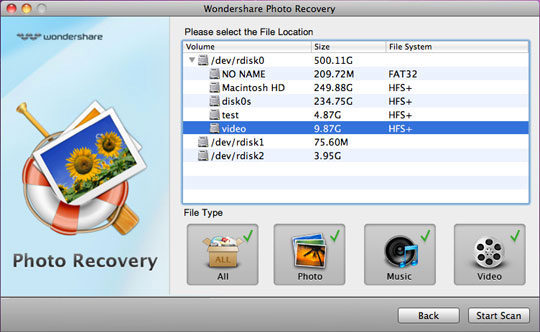 Recovery photo on Mac