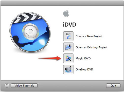 Burn DVD with iDVD
